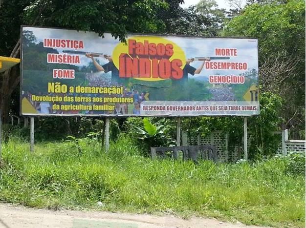 Enquanto isso, no Sul da Bahia, fazendeiros e latifundiários disseminam racismo, incitam à violência contra os Tupinambás e se dizem agricultores familiares. Por onde anda o MP - Ministério Público da Bahia, pergunta o marv@do...