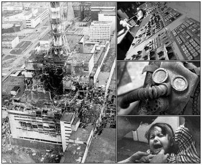 Sábado, 26 de abril de 1986, à 1:23:58 a.m. hora local, o quarto reator da usina de Chernobil - conhecido como Chernobil-4 - sofreu uma catastrófica explosão de vapor que resultou em incêndio, uma série de explosões adicionais, e um derretimento nuclear.